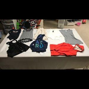8 piece women's clothing lot size xs